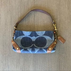 Coach sm blue🦋 bag